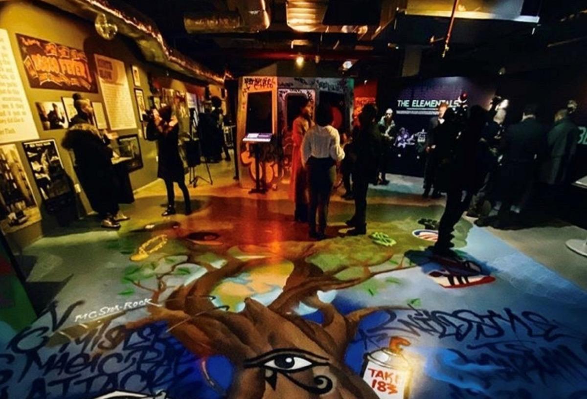 Для экспозиции использовали архивы развития хип-хоп культуры / bronxterminalmarket.com