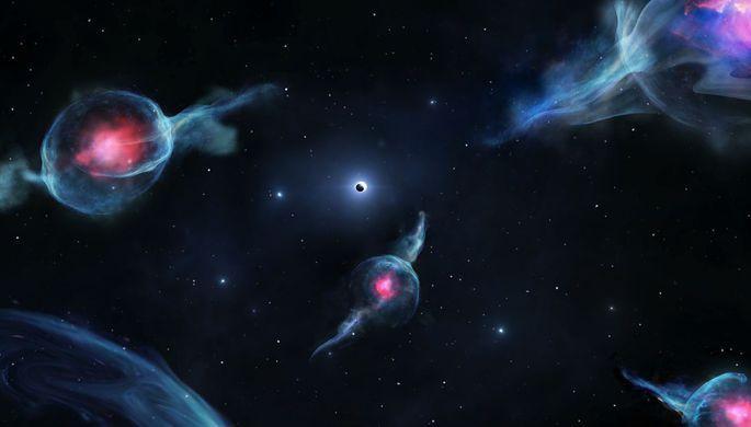 G-об'єкти колись були подвійними зірками / фото Jack Ciurlo / UCLA