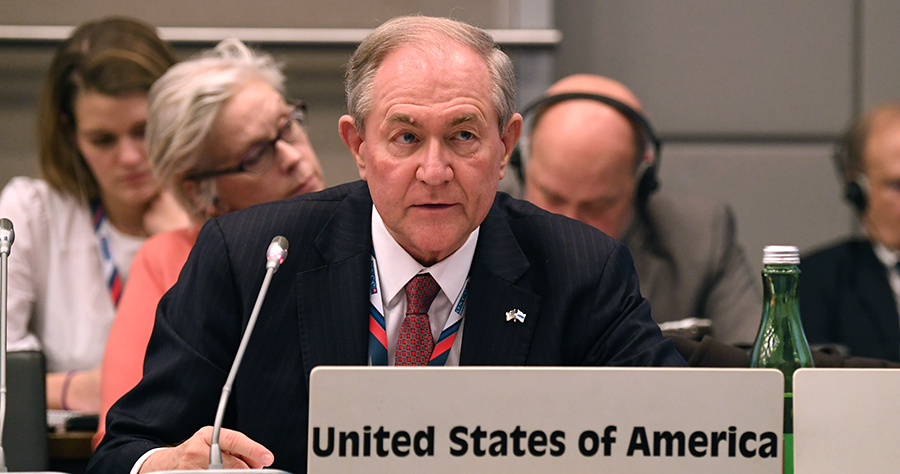 Глава миссии США в ОБСЕ Джеймс Гилмор / фото USOSCE/Gower