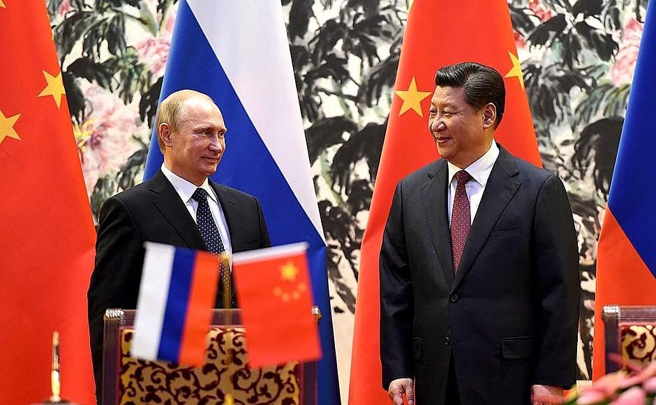 Россия и Китай распространяют свое влияние черезкоррупцию / Kremlin.ru