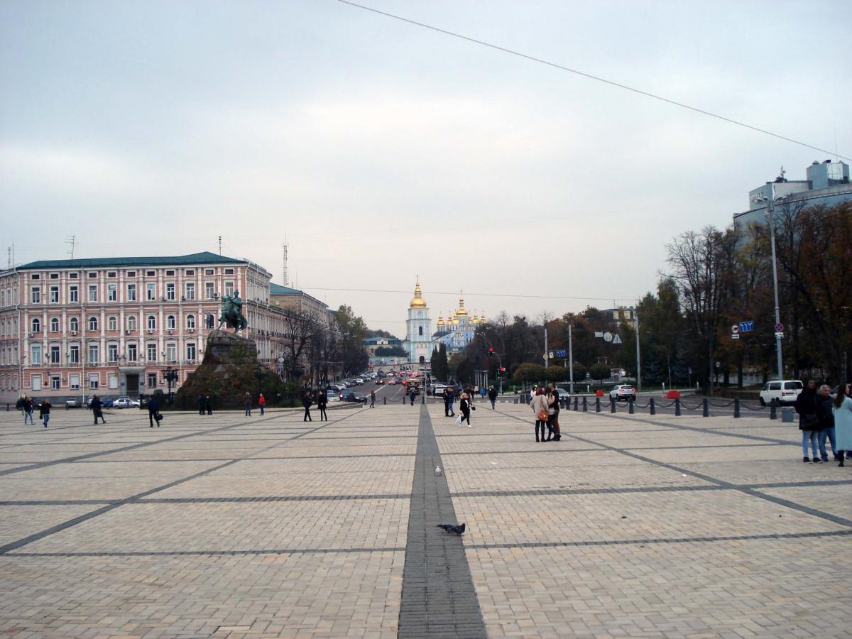 Рух у центрі Києва відновили / Фото: Центр організації дорожнього руху
