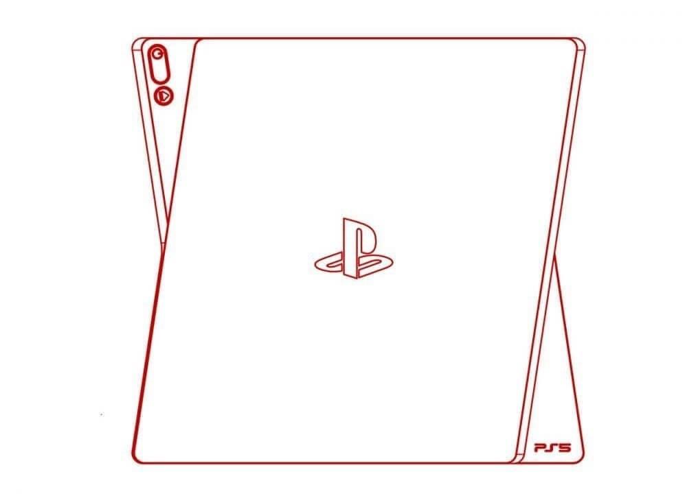 PS5 в вертикальном положении / twitter.com