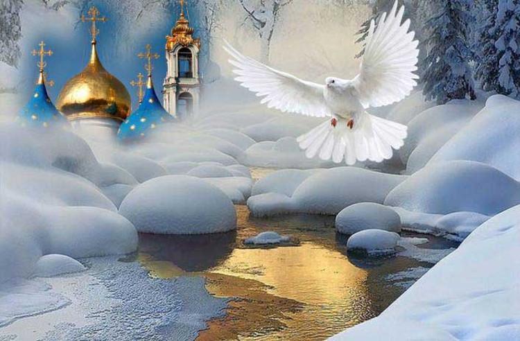 Традиції на Водохреща / фото tasachena.org