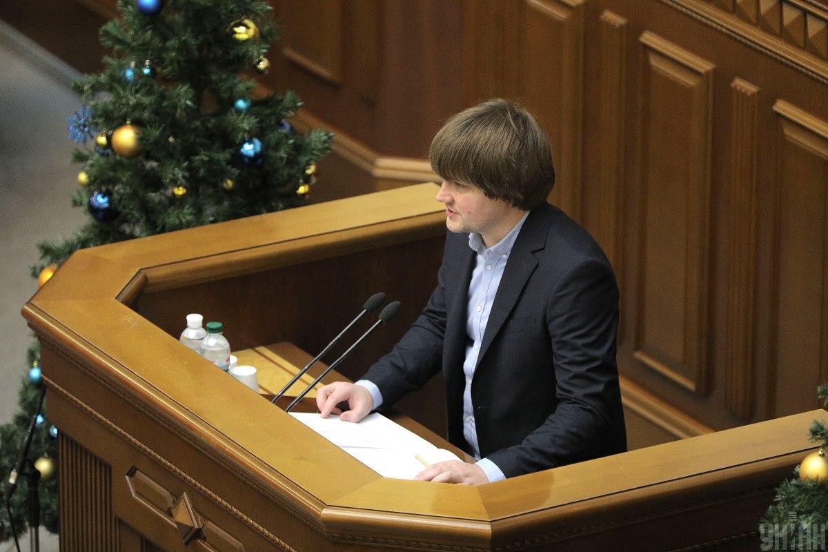 Александр Санченко принял присягу народного депутата / фото УНИАН