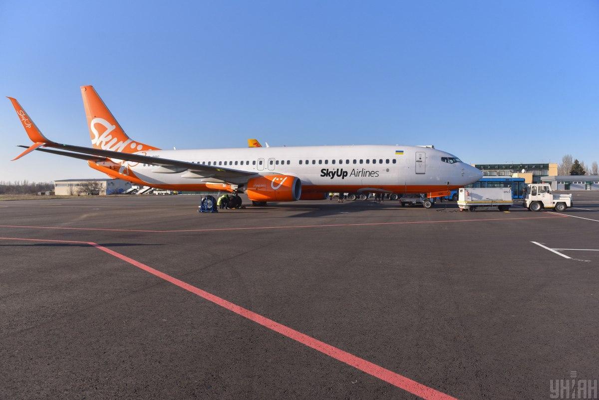 SkyUp Airlines в марте выполнила 708 пассажирских рейсов / фото УНИАН