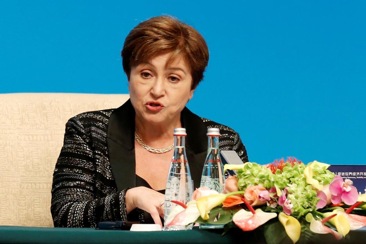 Kristalina Georgieva / REUTERS