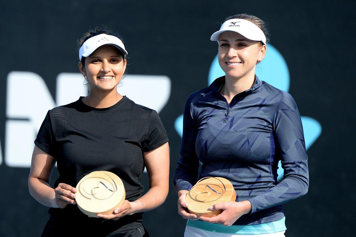 Надежда Киченок и Саня Мирза / фото: twitter.com/WTA