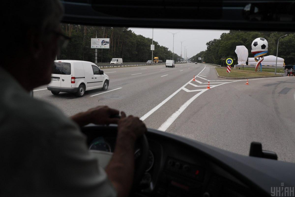 Завтра могут временно ограничить движение вблизи аэропорта «Борисполь» и на отдельных участках Бориспольского шоссе / фото УНИАН
