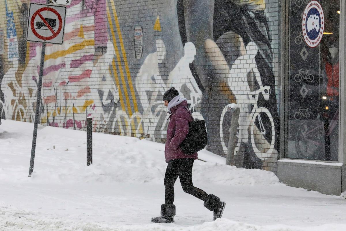 Канаду засыпало снегом / REUTERS