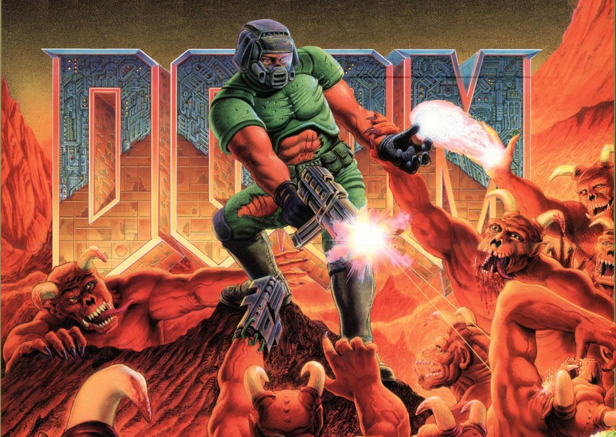 Культовыйшутер от первого лица - Doom / dailymotion.com