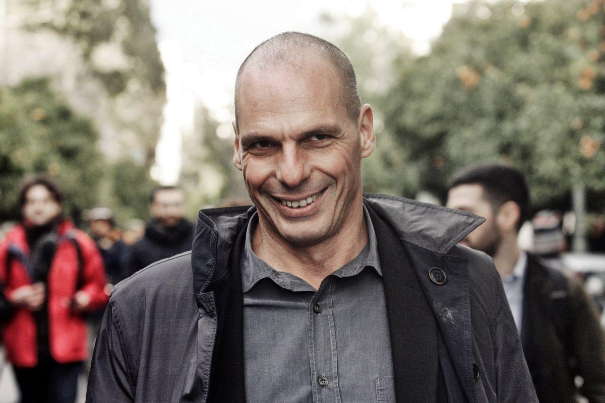 Янис Варуфакис после работы в Valve  с головой ушел в политику / vox.com