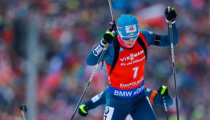 Вита Семеренко закрыла 20 мишеней / фото: biathlon.com.ua