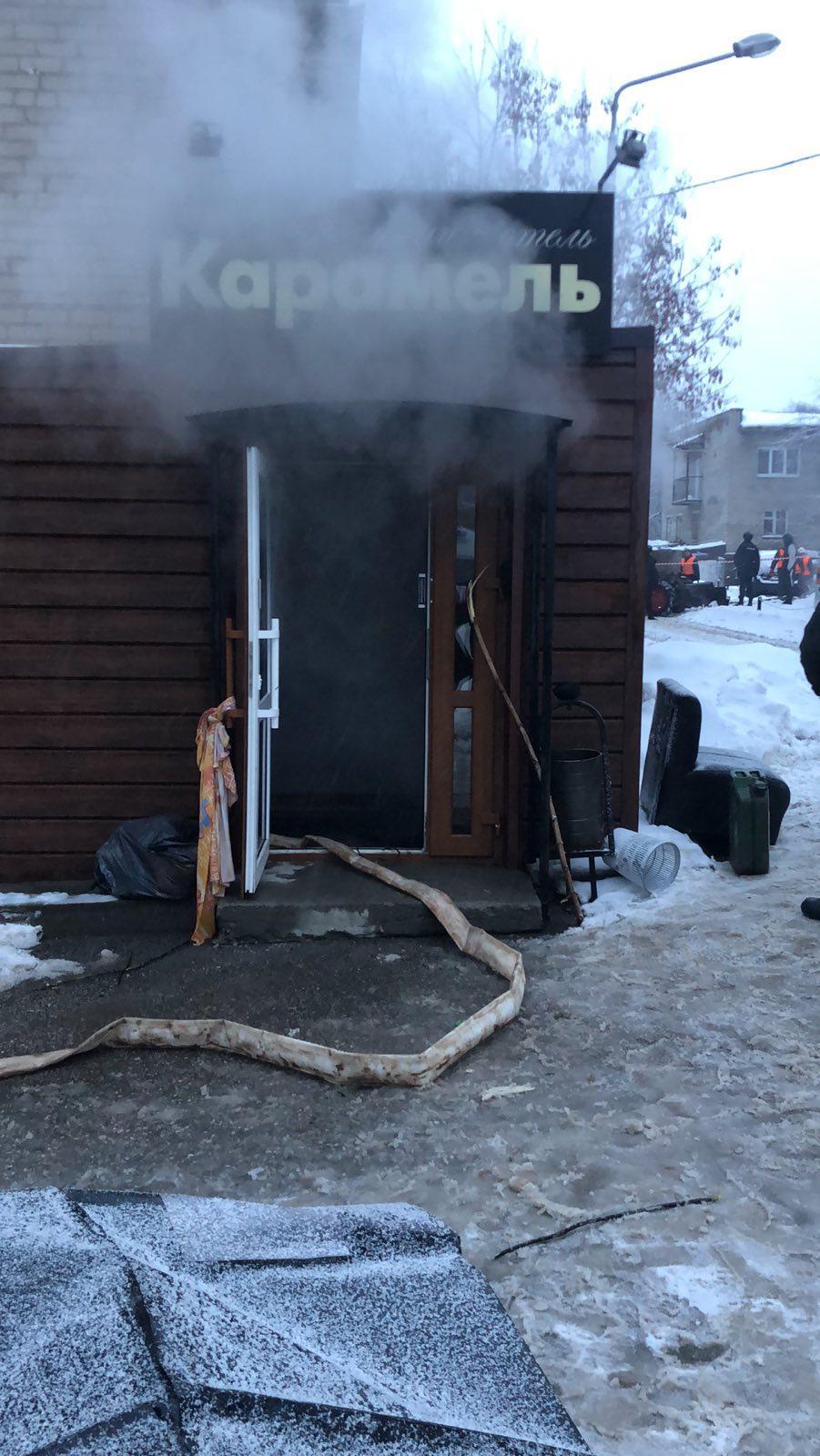 Также ожоги получили два спасателя / СК РФ
