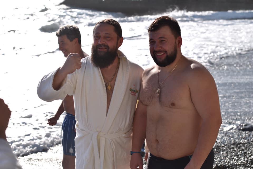 Террорист Пушилин в оккупированной Ялте / twitter.com/KrimRt