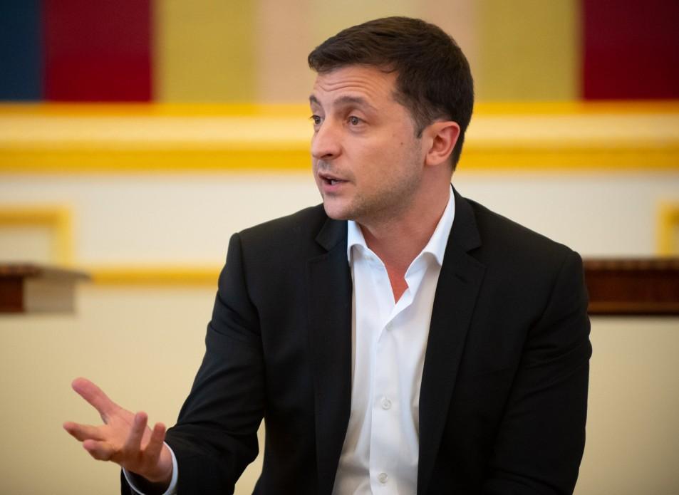 Зеленський сказав, чому залишив Гончарука / president.gov.ua
