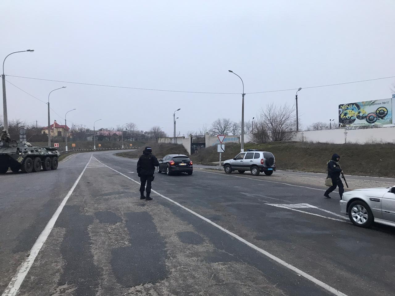На Херсонщині проводять спецоперацію проти ОЗУ / gp.gov.ua