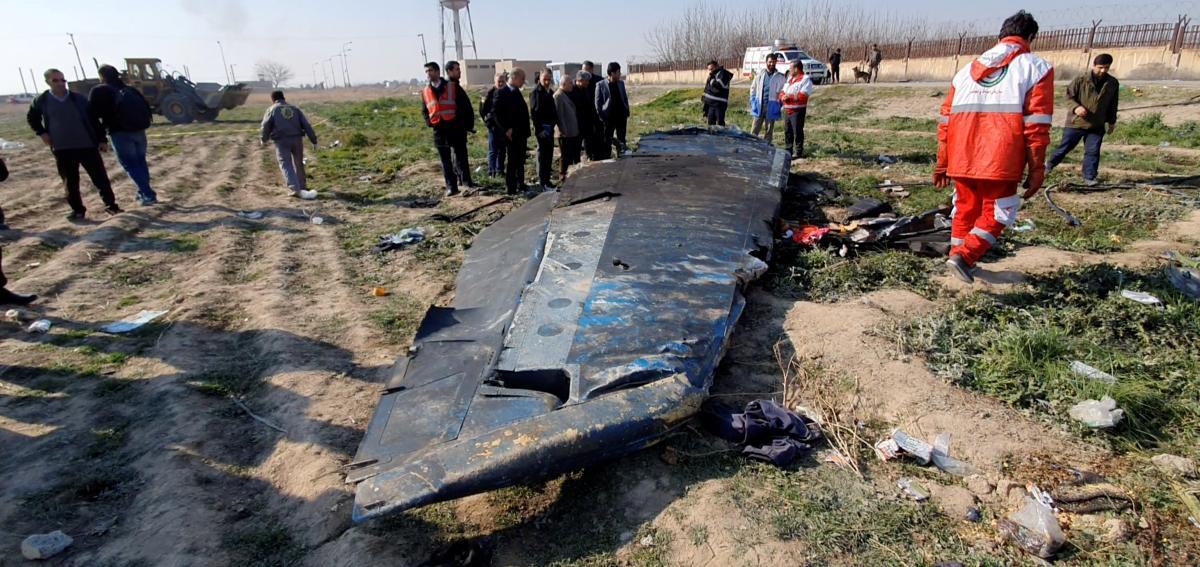 """Самолет МАУ был сбит силами ПВО иранского """"Корпуса стражей исламской революции"""" / REUTERS"""