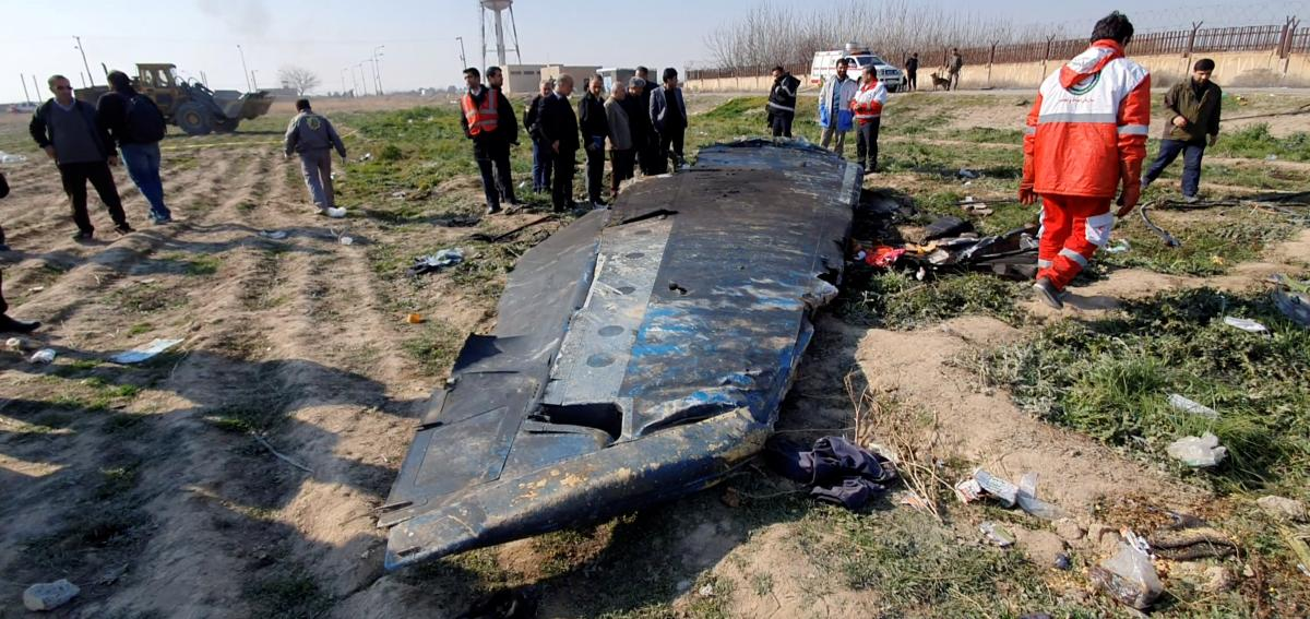 Авиакатастрофа самолета МАУ в Иране произошла 8 января 2020 года /REUTERS