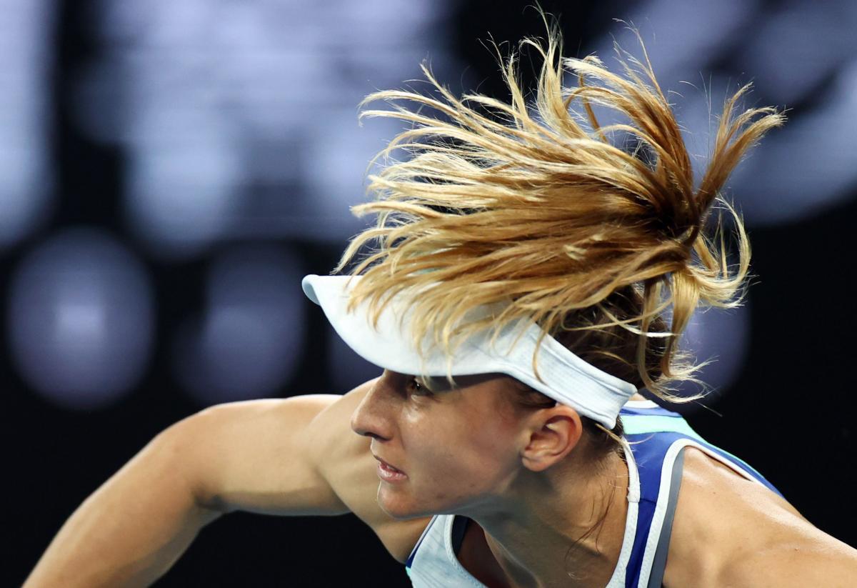 Леся Цуренко пробилася до1/8 фіналу / фото REUTERS