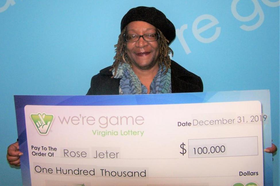 Жінка зірвала джекпот / Virginia Lottery