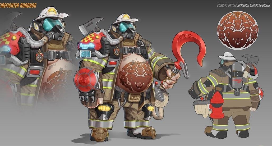 Облик для одного из персонажей в Overwatch, который пользователи предлагали добавить в игру / imgtagram.com