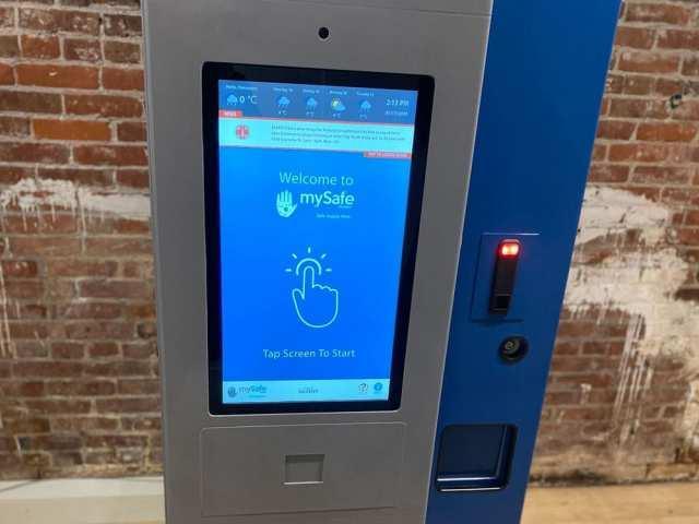 Автомат установили в рамках программы MySafe / vancouversun.com