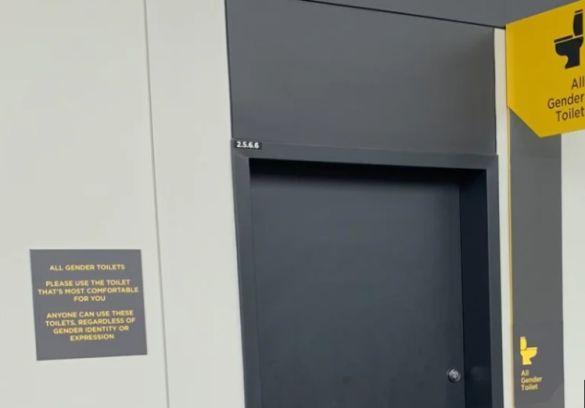 На центральном стадионе Australian Open открыли туалеты для всех гендеров / Фото: Ajnj - theage.com.au