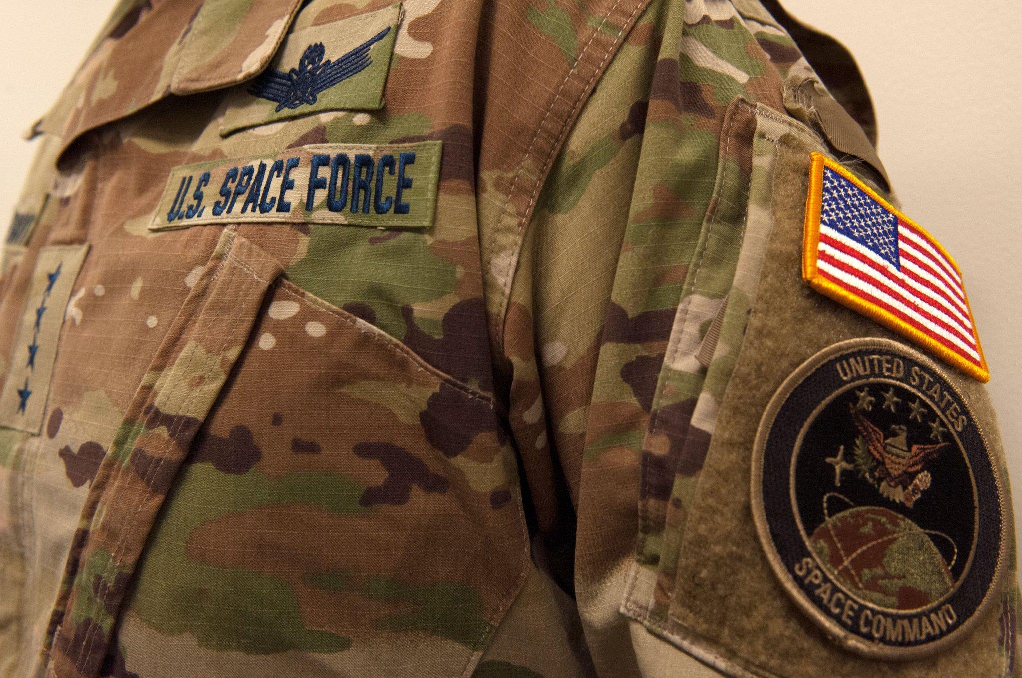 Уніформа має зеленуватий колір / фото: United States Space Force