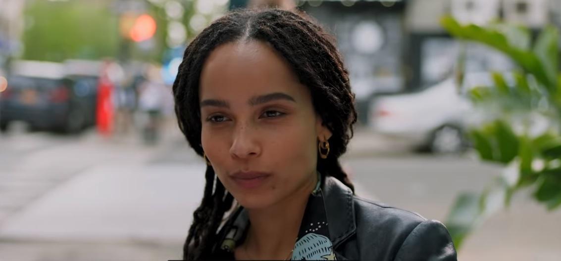 Главную роль в сериале играет Зои Кравиц \ скриншот с видео