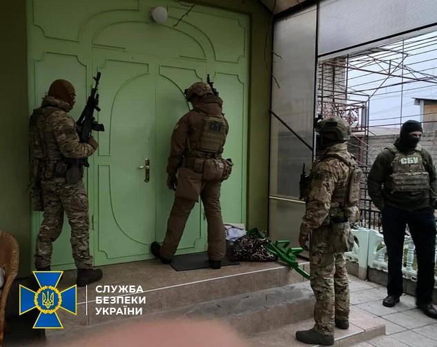 Спецназовцы задержали одного из подозреваемых в убийстве Екатерины Гандзюк / ssu.gov.ua