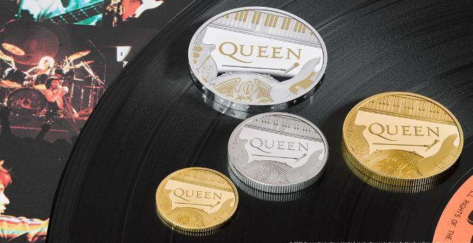 Британський Королівський монетний двір випустив пам'ятну монету на честь рок-групи Queen \ @RoyalMintUK
