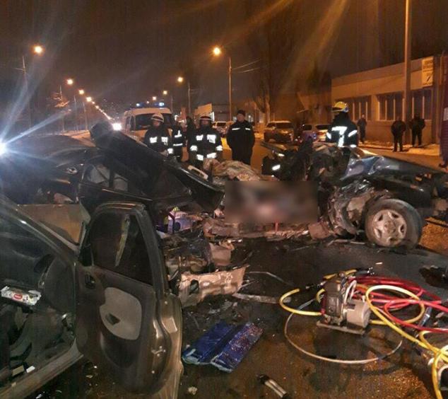 В ДТП - двое погибших / Фото: Патрульная полиция Днепропетровской области