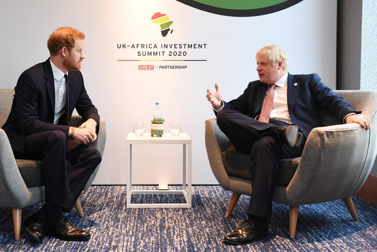 Принц Гаррі і Борис Джонсон / фото REUTERS