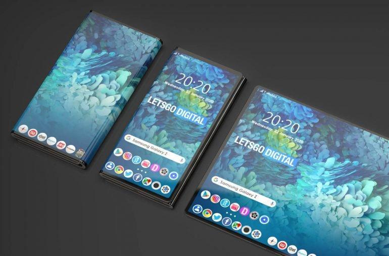 Galaxy Z окажется дороже, чем прошлогодний Galaxy Fold / фото LetsGoDigital