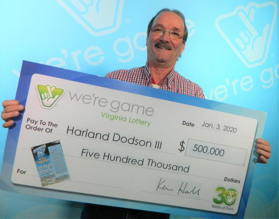 Пара неожиданно выиграла / Virginia Lottery