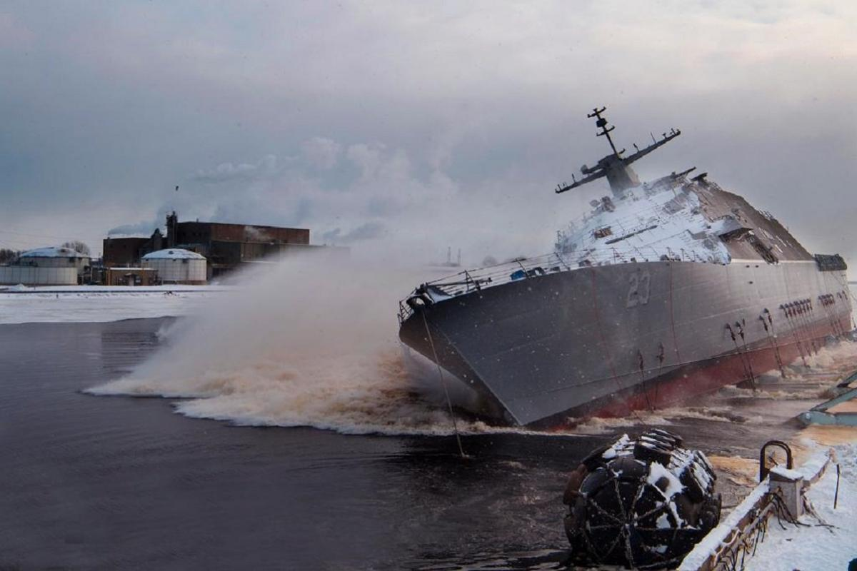 USS Cooperstown (LCS 23) / USN