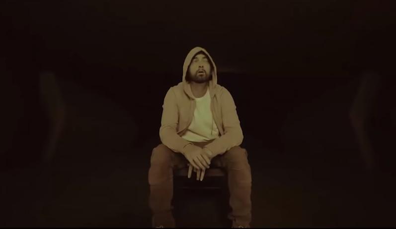 """Эминема все еще можно называть """"рэп богом"""" / Скриншот с видео - Youtube, Eminem"""