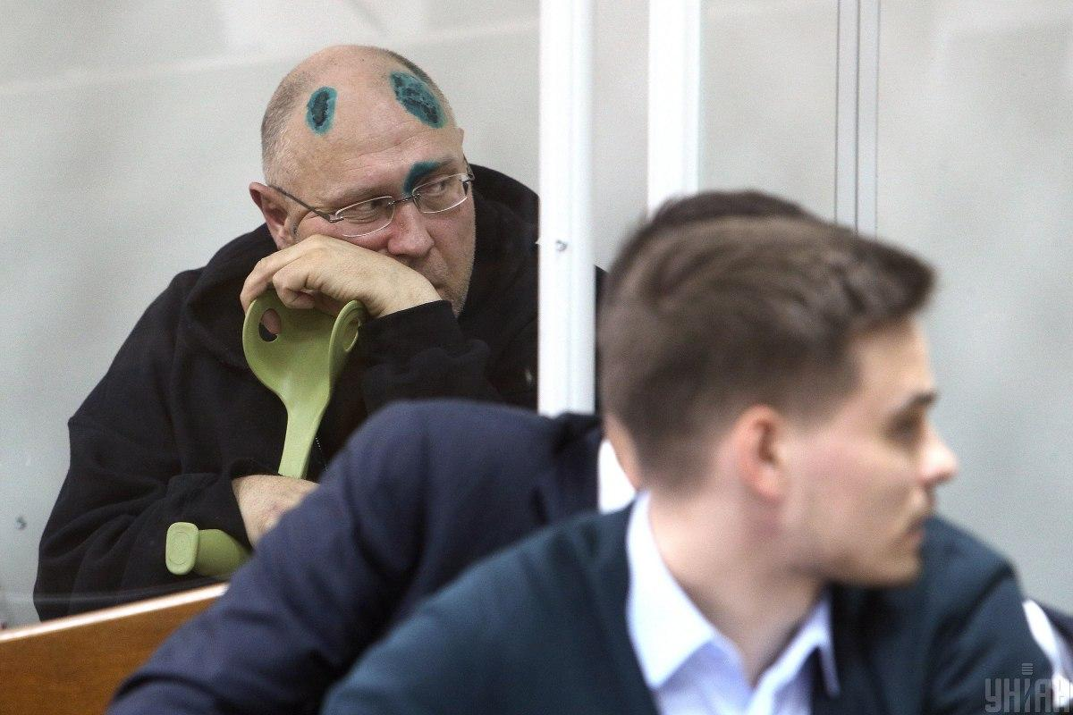Pavlovsky in the courtroom / Photo from UNIAN