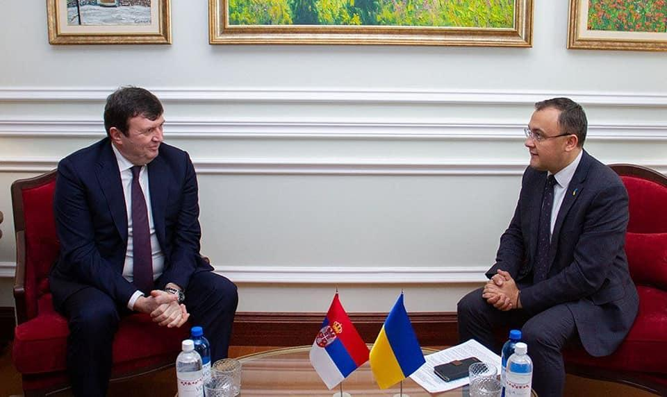 Jovanovic (left) and Bodnar (right) / Photo from Ukraine's Foreign Ministry