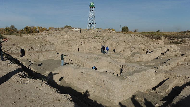 Остатки найденной постройки датируются 114-117 годы н.э./ Фото: Panorama.am