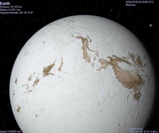 Полностью замерзшую Землю мог растопить астероид / MTU