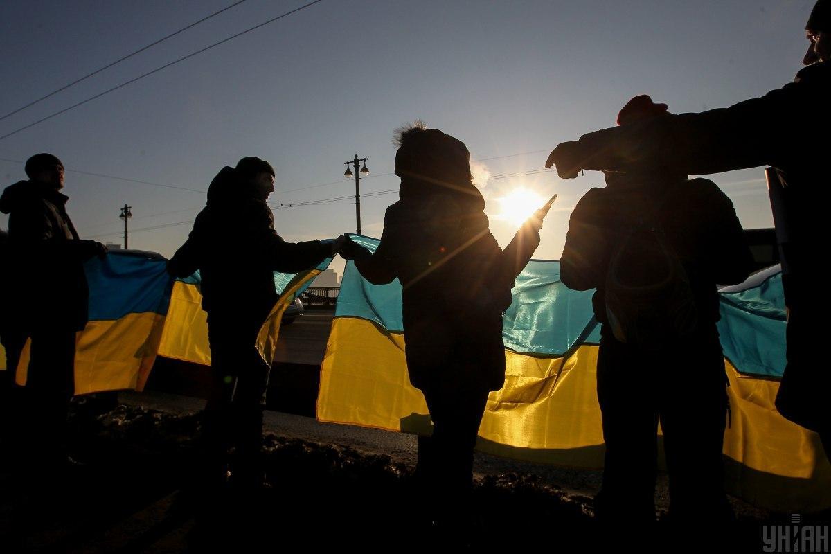 В Украине сегодня отмечают День Соборности / фото УНИАН