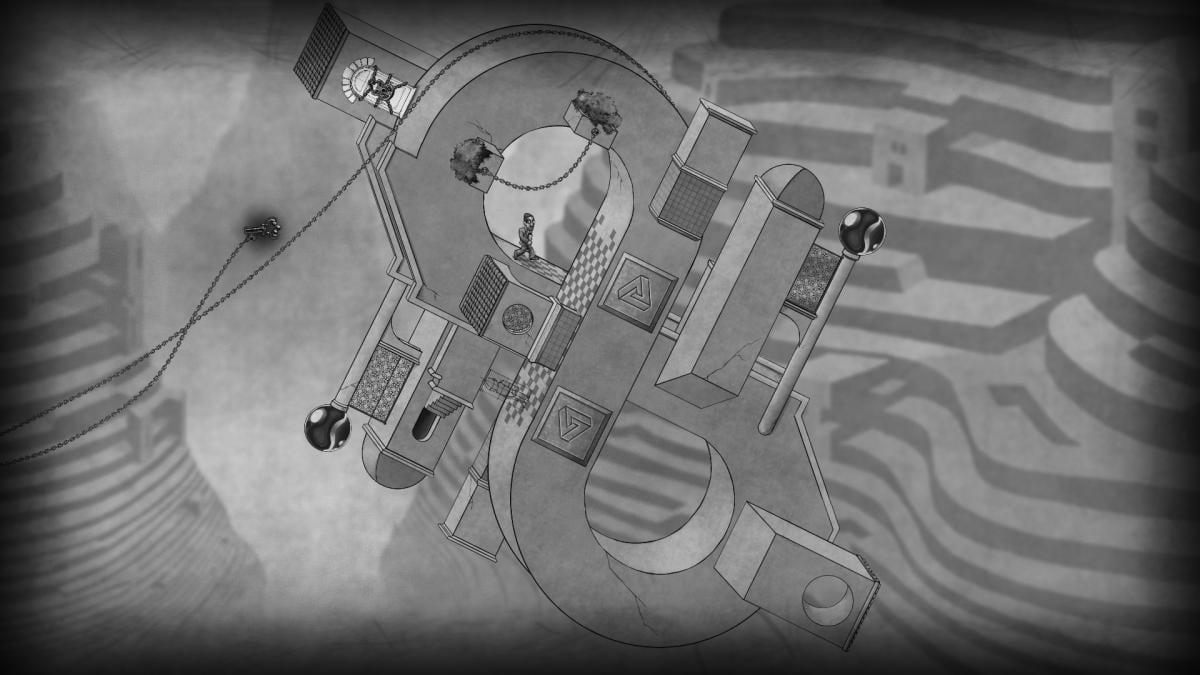 В The Bridge игрока ждут 48 головоломок в декорациях невозможной архитектуры / epicgames.com
