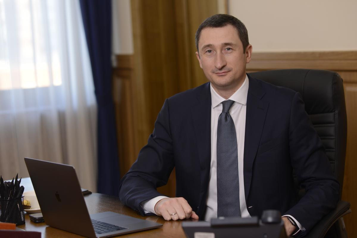 Олексій Чернишов, що очолює столичний регіон з кінця жовтня 2019 року / фото УНІАН