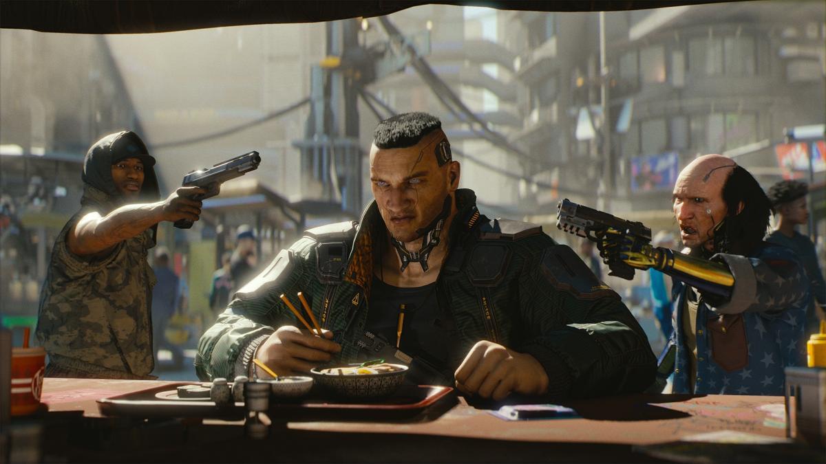 Cyberpunk 2077 выйдет 17 сентября этого года / скриншот из трейлера