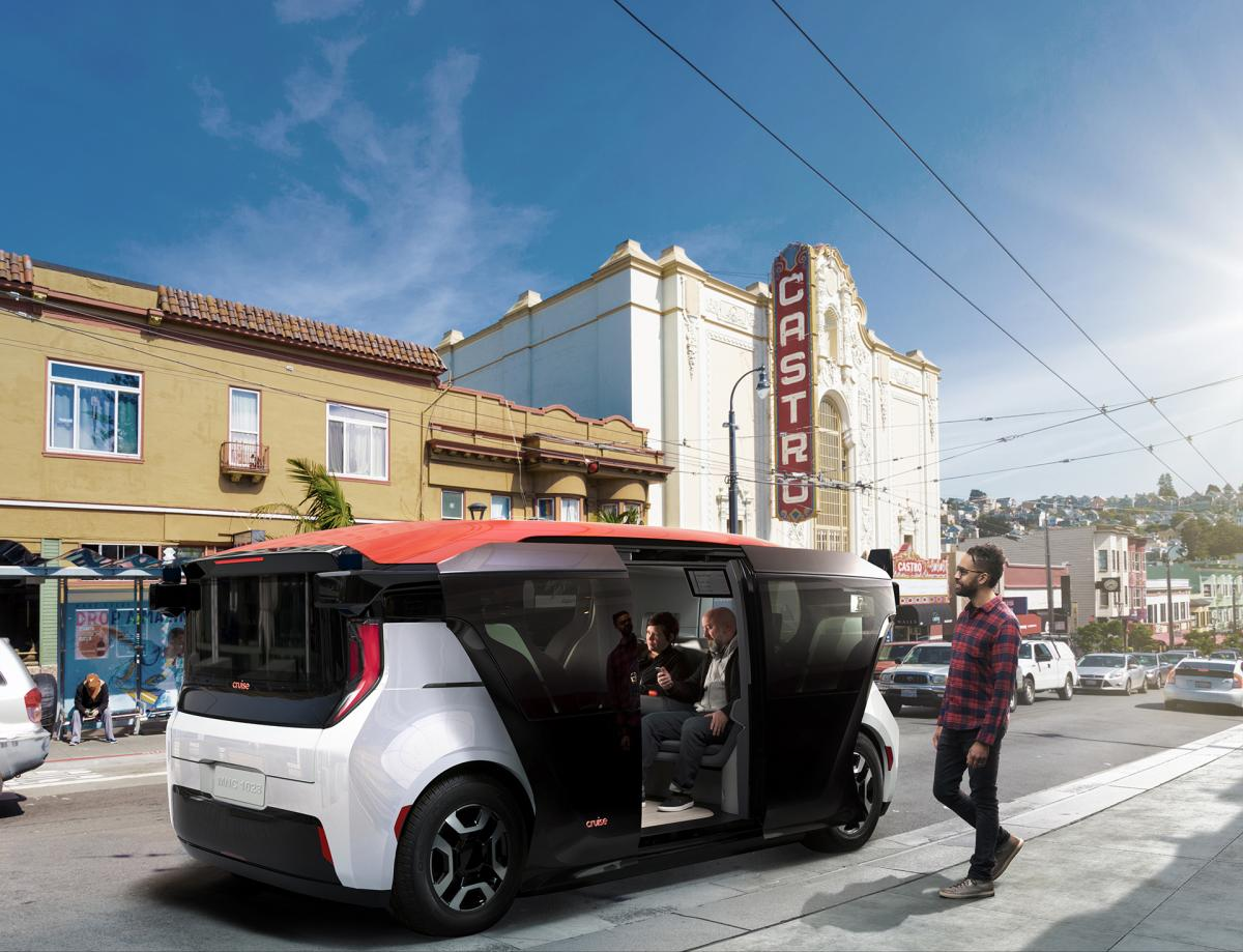 Проект безпілотного авто General Motors / фото : Techcrunch