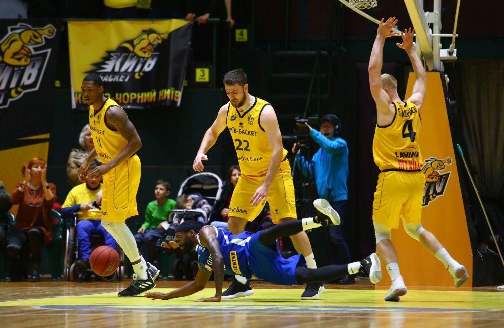 Киев-Баскет сыграет в плей-офф / фото: kyiv-basket.com.ua