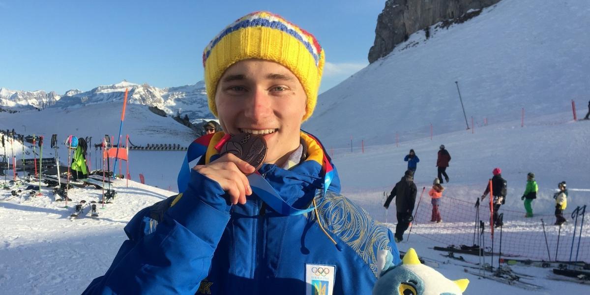 Коваленко став бронзовим призером / фото: НОК України