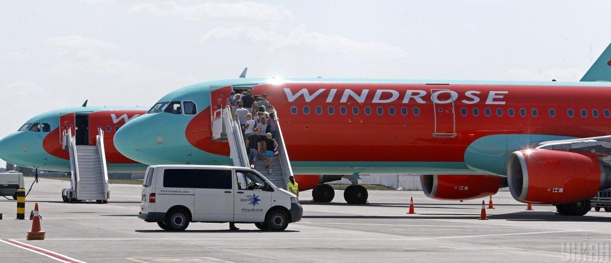 Windrose планує рейси на червень / фото УНІАН