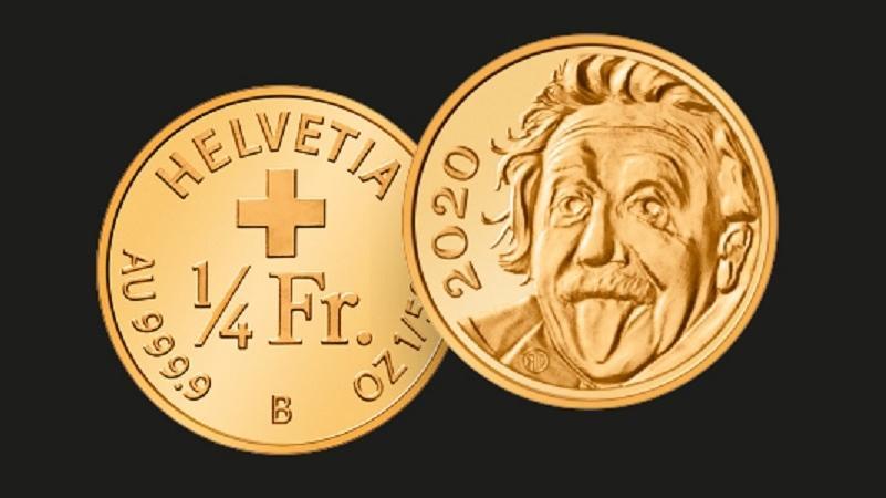 Важить монета 0,063 грами\ swissmint.ch